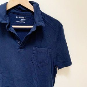 Old Navy- Navy blue Polo shirt S